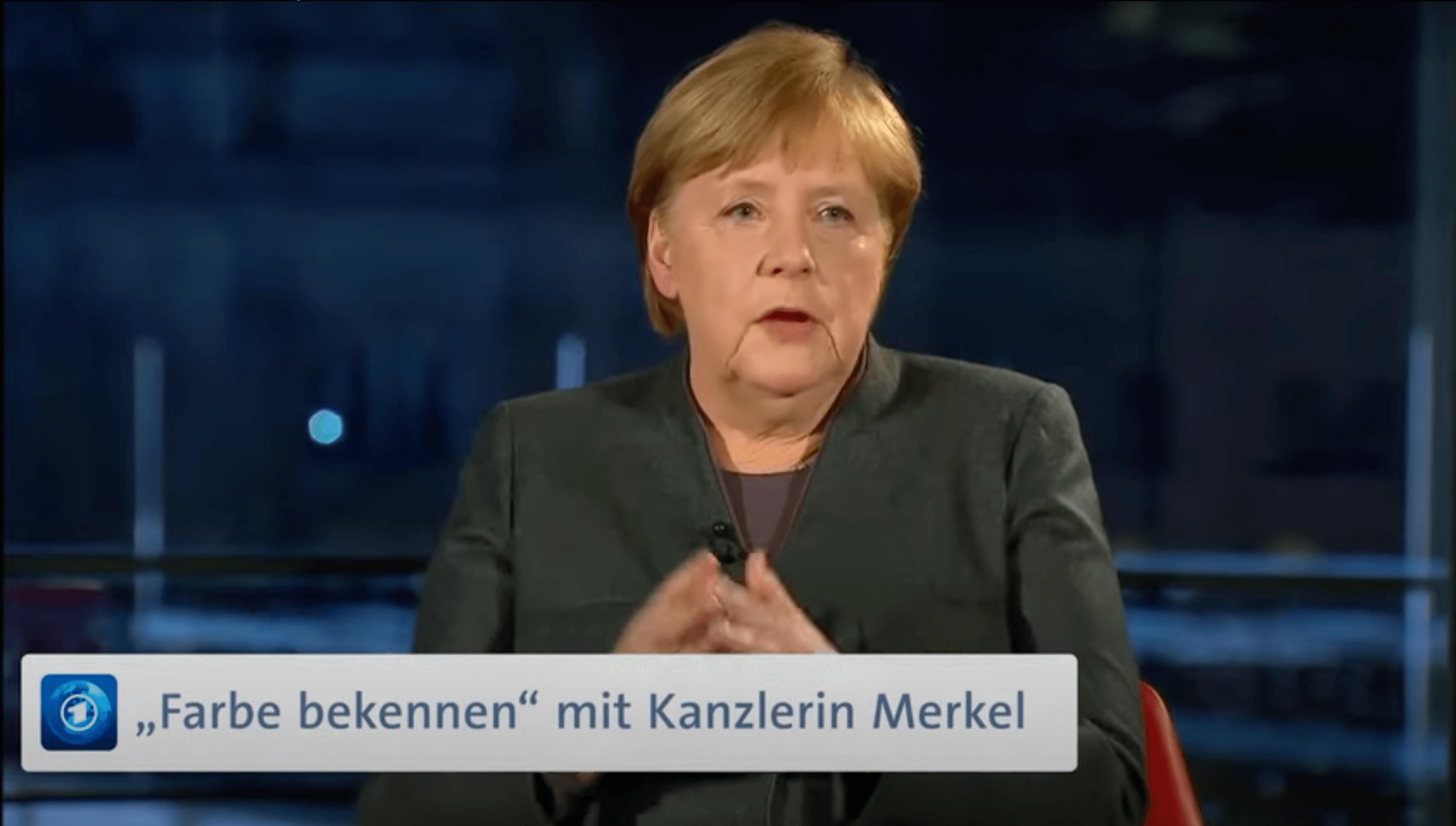 """ARD und Merkel: Verwaschen statt """"Farbe bekennen"""""""