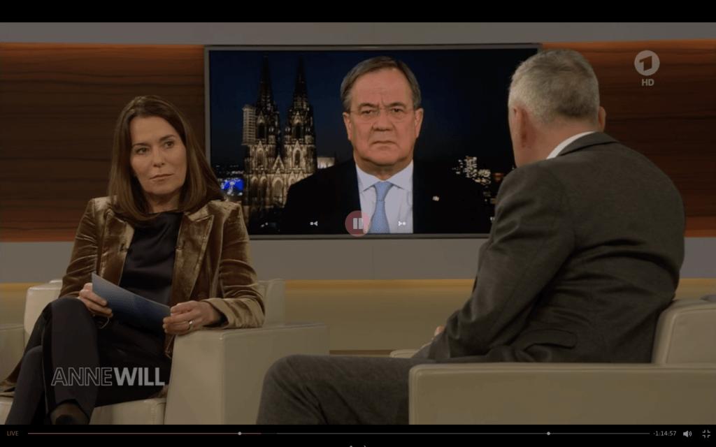 Parallel-Realitäten bei Anne Will? Show in der ARD–Talkshow?