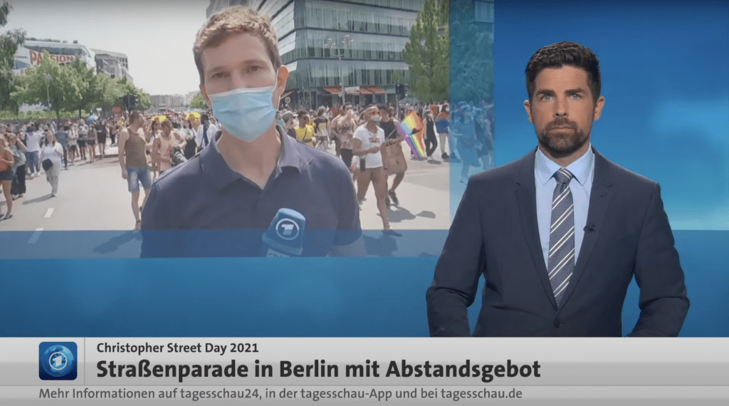"""Gute und böse Demonstranten –brav zurecht """"geframed"""" in der ARD"""