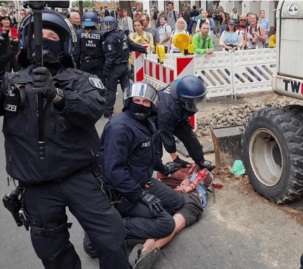 Berlin-Demo: Wie es wirklich war und wie die Medien berichten