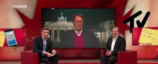 Bei Stern TV: Impfausweise fälschen mit Karl Lauterbach